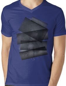 Funky lady (grey) Mens V-Neck T-Shirt