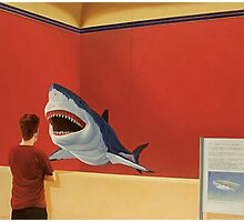 White Shark I (Stand Off) Photographic Print