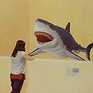 White Shark III (Girl) by Jason Moad