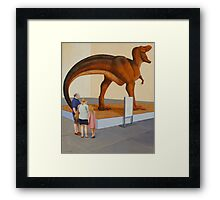 Study for Museum II (T-Rex) Framed Print