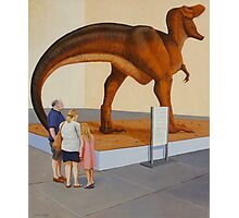 Study for Museum II (T-Rex) Photographic Print