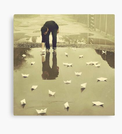 Are you puddled? Canvas Print