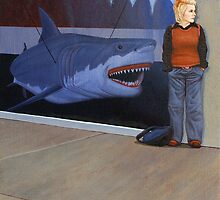 Study for White Shark V (Window) by Jason Moad