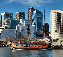 Darling Harbour HDR by Lindsay Woolnough (Oram)