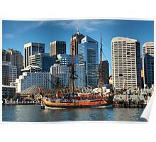 Darling Harbour HDR Poster