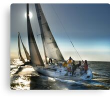 SUN POINT SAILING Canvas Print