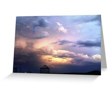 Reflections of a Sunrise Greeting Card