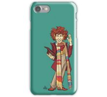 The Fourth Doctor [Who] iPhone Case/Skin