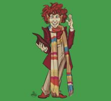 The Fourth Doctor [Who] Baby Tee