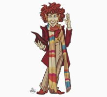 The Fourth Doctor [Who] Kids Tee