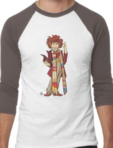 The Fourth Doctor [Who] Men's Baseball ¾ T-Shirt