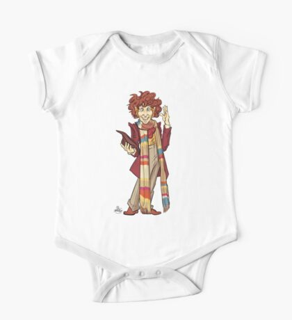 The Fourth Doctor [Who] One Piece - Short Sleeve