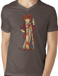The Fourth Doctor [Who] Mens V-Neck T-Shirt