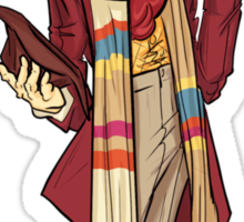 The Fourth Doctor [Who] Sticker