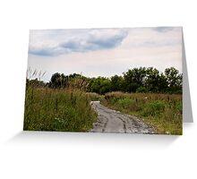 Prairie Path Greeting Card
