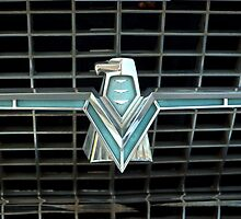 1966 Ford Thunderbird Emblem by TeeMack