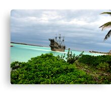 Pirate Boat  Canvas Print