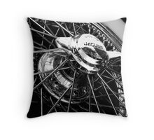 Chrome Rim Throw Pillow