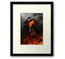 War and Ruin Framed Print