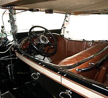 Charles Lindberg's 1927 Packard - 3 by Barry W  King