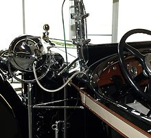 Charles Lindberg's 1927 Packard - 4 by Barry W  King