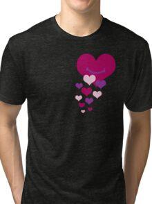 You make my heart smile Tri-blend T-Shirt