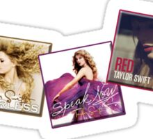Taylor Swift Album Artwork Sticker