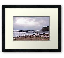 Going Coastal Framed Print