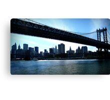 :: Water Under the Bridge :: Canvas Print