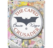 Batman wears chucks. iPad Case/Skin