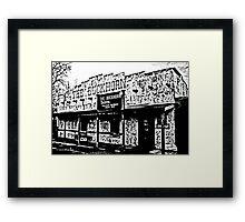 Buckhorn Saloon Framed Print