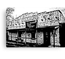 Buckhorn Saloon Canvas Print