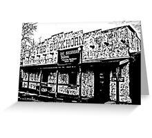Buckhorn Saloon Greeting Card