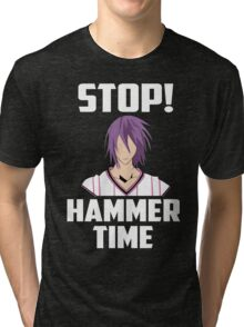 yosen thors hammer time Tri-blend T-Shirt