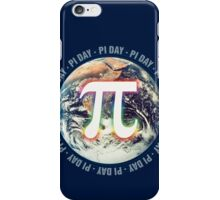 Pi Day on Earth iPhone Case/Skin