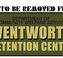 Not TO Be Removed From Wentworth Detention Centre by FizzBang