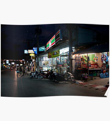 Down Town Kata. Thailand Poster