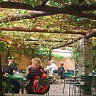 Cafe in Zurich by Albert Crawford