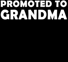 GREAT MOMS GET PROMOTED TO GRANDMA by fandesigns