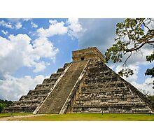 Kukulkan Pyramid Photographic Print