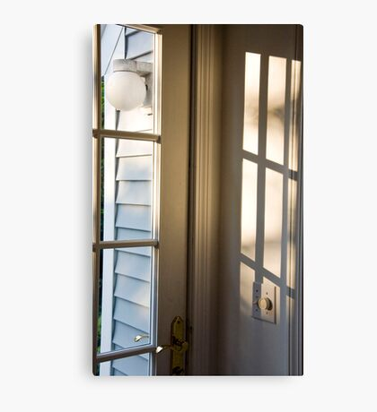Door To The Porch Canvas Print
