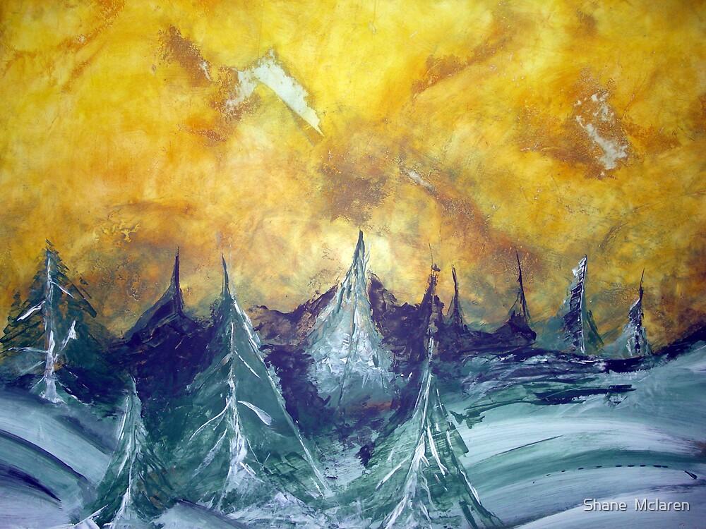 Deserted Winter by Shane  Mclaren