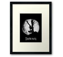 """Ryuk """"MoonLight"""" - Death Note  Framed Print"""