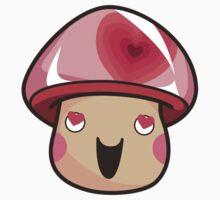 Lovey Mushroom Kids Clothes