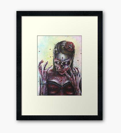 Dead Girl Framed Print