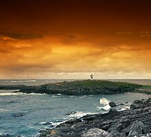 Northern Lighthouse by Andreas Stridsberg