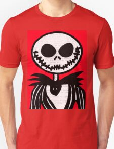 Jack on Red  T-Shirt