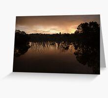 Lagoon at Dusk Greeting Card