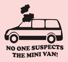 No One Suspects The Mini Van by jnasty