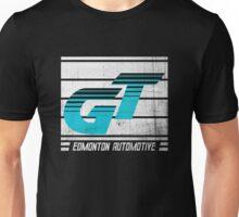 Edmonton Auto - Cyan & White Unisex T-Shirt